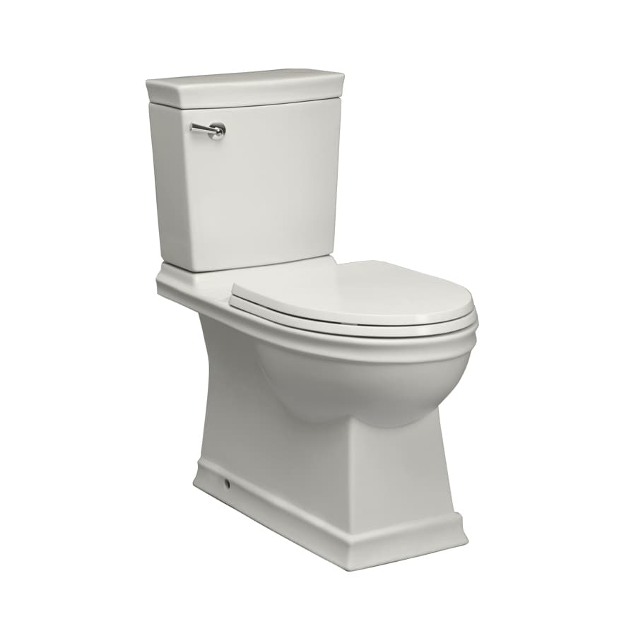 Jacuzzi Prestige White 1.28-GPF (4.85-LPF) 12 Rough-In WaterSense Elongated 2-Piece Chair Height Toilet