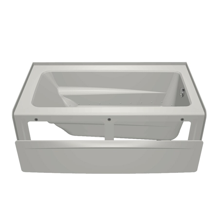 Jacuzzi Primo 60-in L x 32-in W x 19-in H White Acrylic Rectangular Skirted Air Bath
