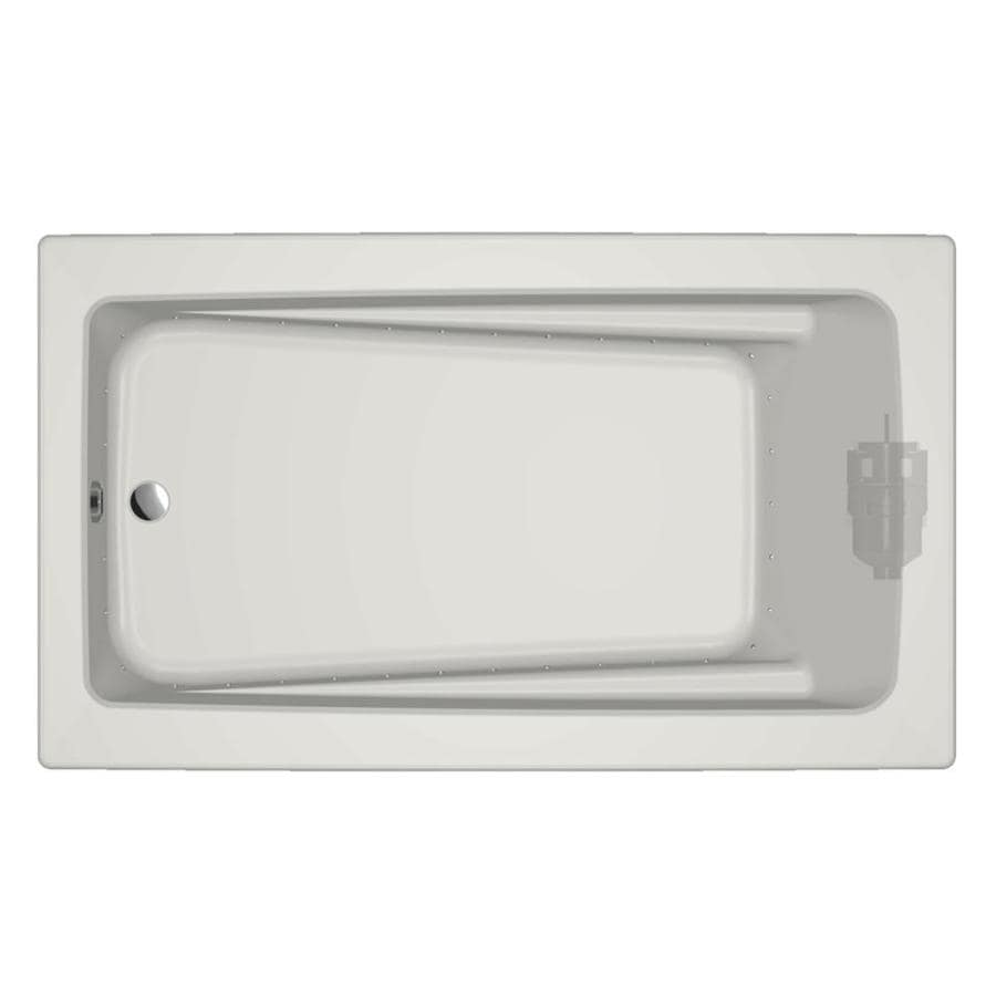 Jacuzzi Primo 72-in L x 42-in W x 21-in H White Acrylic Rectangular Drop-in Air Bath