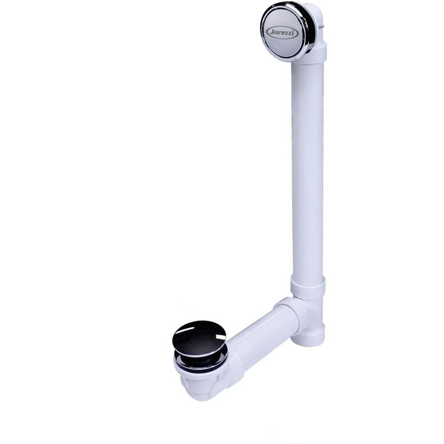 Shop Jacuzzi 1-1/2-in Chrome Foot Lock with Plastic Pipe at Lowes.com