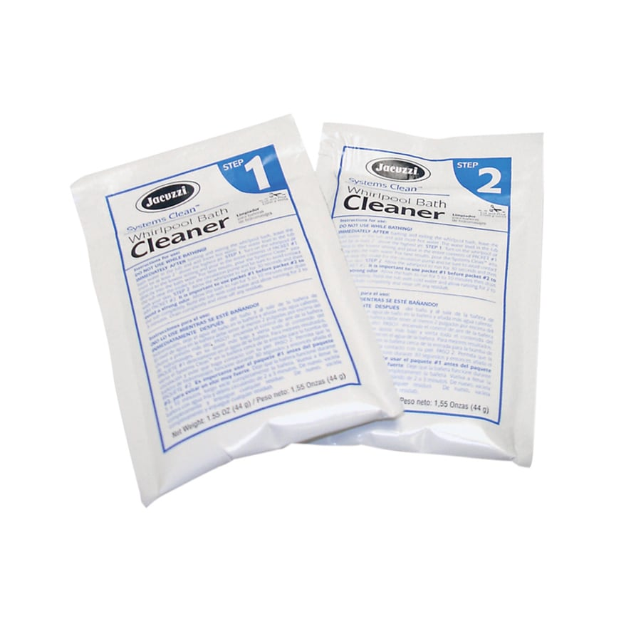 Shop Jacuzzi 2-Pack 6.2-oz Whirlpool Tub Cleaner at Lowes.com