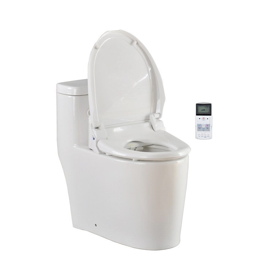 Shop Jacuzzi Bellagio 15-1/2-in H White Elongated Bidet at Lowes.com