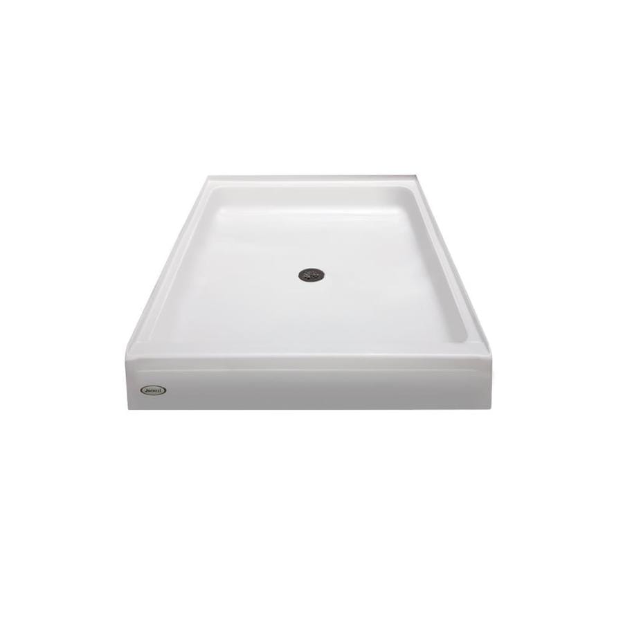 Jacuzzi Primo White Acrylic Shower Base (Common: 42-in W x 36-in L; Actual: 42-in W x 36-in L)