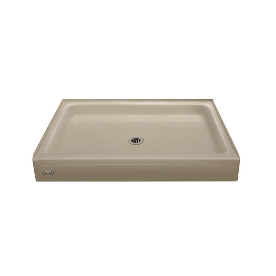 Jacuzzi Primo Almond Acrylic Shower Base (Common: 36-in W x 60-in L; Actual: 36-in W x 60-in L)
