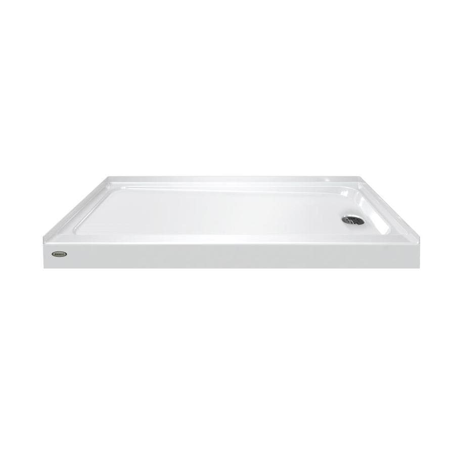 Jacuzzi Primo White Acrylic Shower Base (Common: 32-in W x 60-in L; Actual: 32-in W x 60-in L)