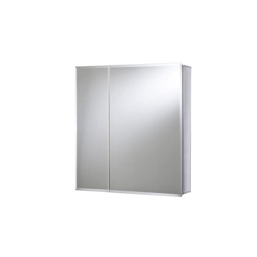 Captivating Jacuzzi 24 In X 26 In Rectangle Surface/Recessed Mirrored Aluminum Medicine  Cabinet