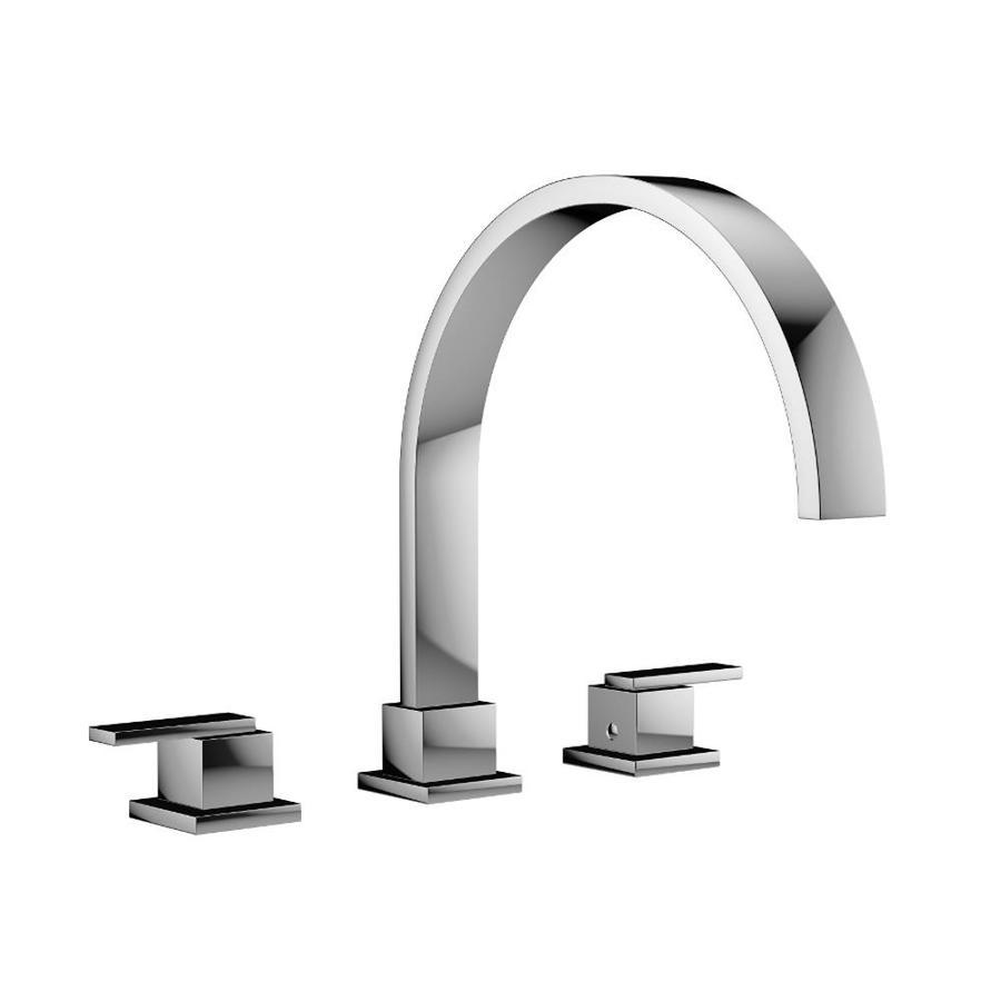 Jacuzzi Mincio Polished Chrome 2-Handle Widespread Commercial Bathroom Faucet