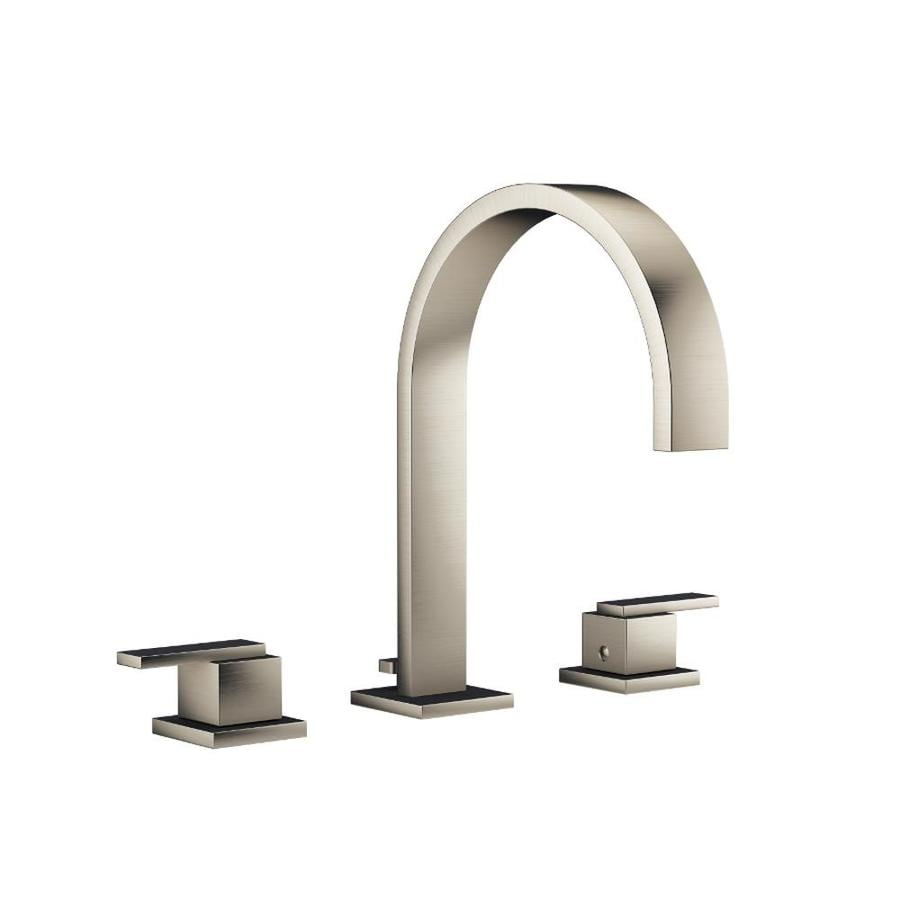 Jacuzzi Mincio Brushed Nickel 2-Handle Fixed Deck Mount Bathtub Faucet