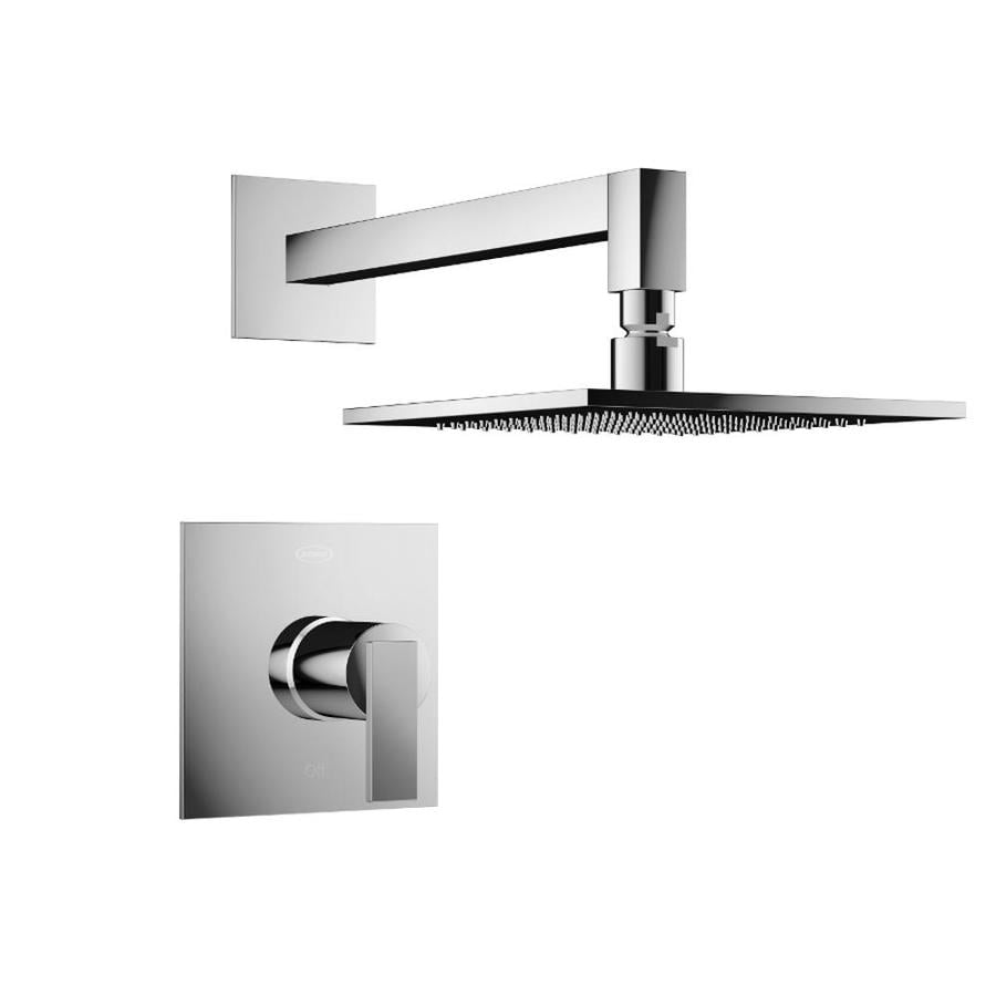 Jacuzzi Mincio Polished Chrome 1-Handle Commercial Shower Faucet with Valve