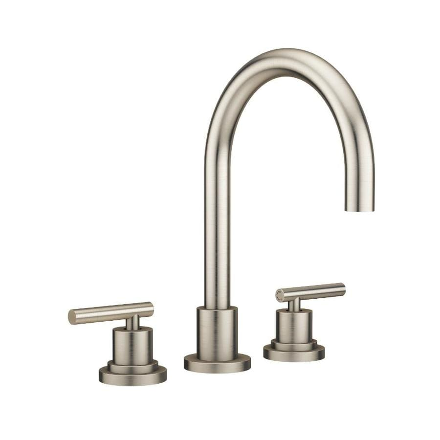 Jacuzzi Salone Brushed Nickel 2-Handle Fixed Deck Mount Bathtub Faucet