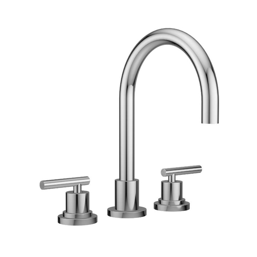Jacuzzi Salone Polished Chrome 2-Handle Fixed Deck Mount Bathtub Faucet