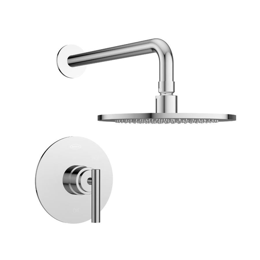 Jacuzzi Salone Polished Chrome 1-Handle Commercial Shower Faucet with Valve