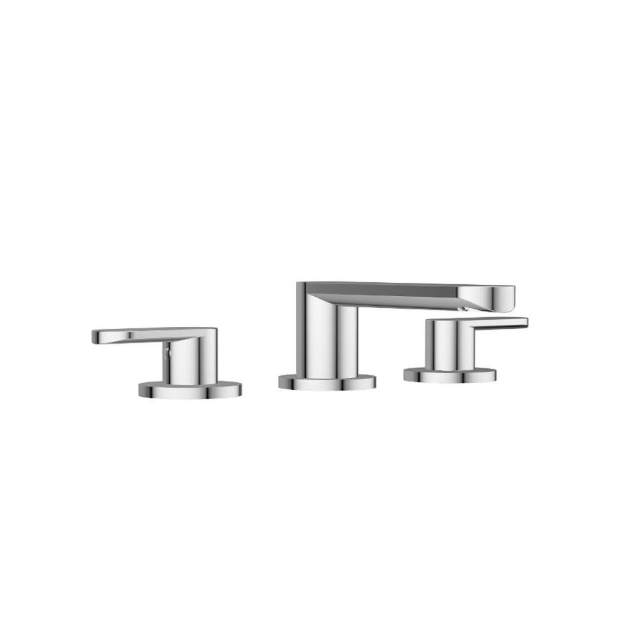 Jacuzzi Razzo Polished Chrome 2-Handle Widespread Commercial Bathroom Sink Faucet