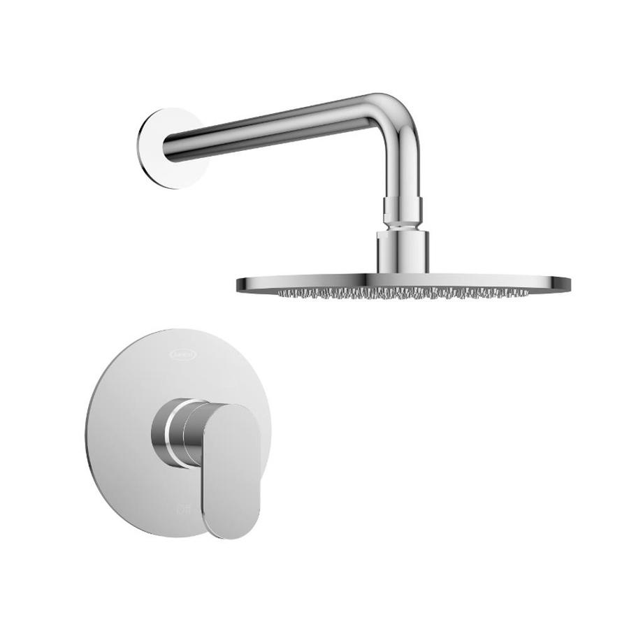 Jacuzzi Razzo Polished Chrome 1-Handle Commercial Shower Faucet with Valve
