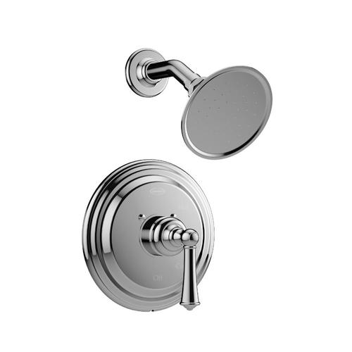 Jacuzzi Barrea Polished Chrome 1 Handle Shower Faucet With Valve In The Shower Faucets Department At Lowes Com