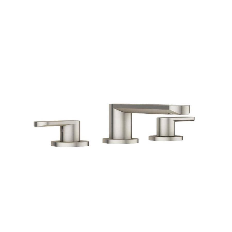 Jacuzzi Razzo Brushed Nickel 2-Handle Widespread Commercial Bathroom Faucet