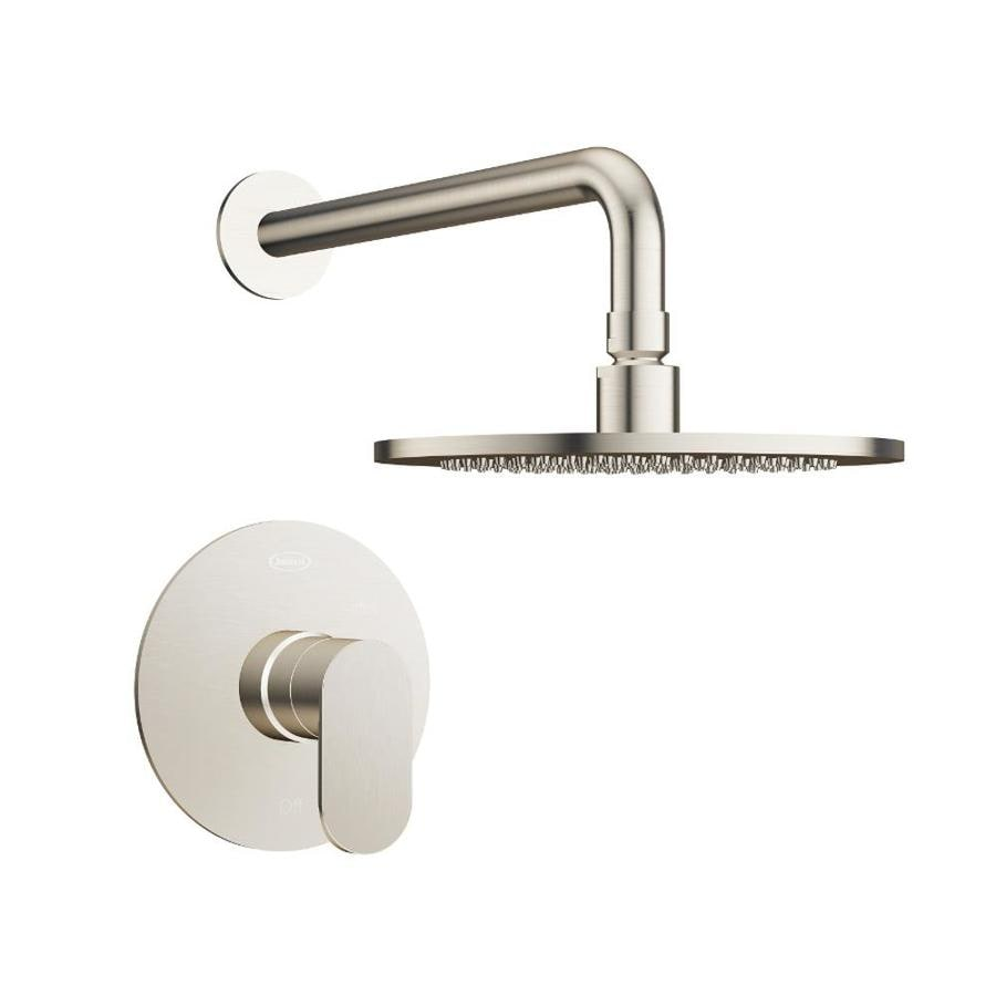 Jacuzzi Razzo Brushed Nickel 1-Handle Commercial Shower Faucet with Valve