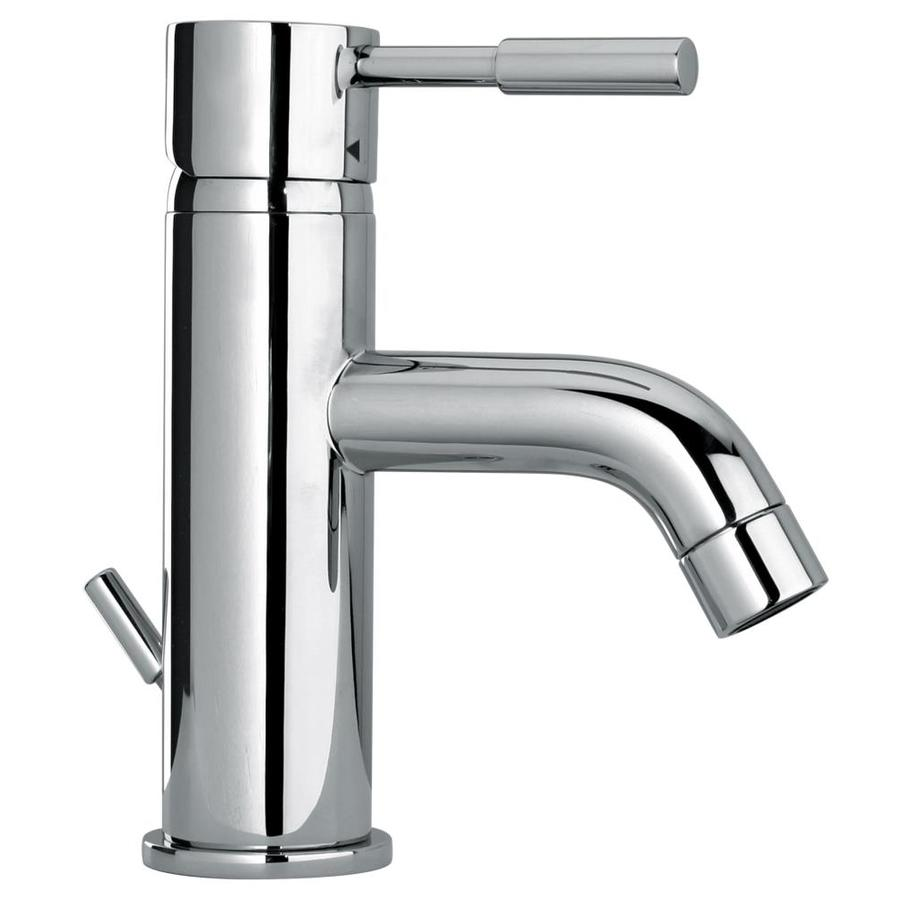 Shop Jacuzzi Fiddich Chrome 1 Handle Single Hole Bathroom Sink Faucet At