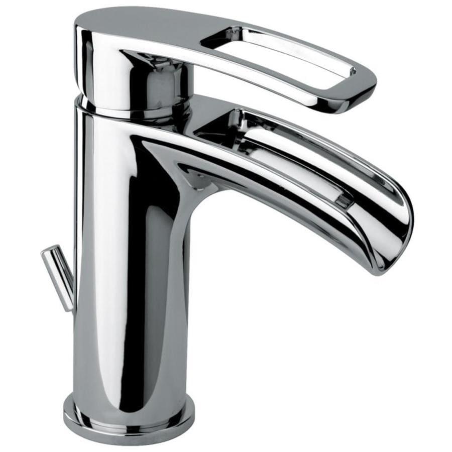 Jacuzzi Bretton Chrome 1-Handle Single Hole Bathroom Sink Faucet