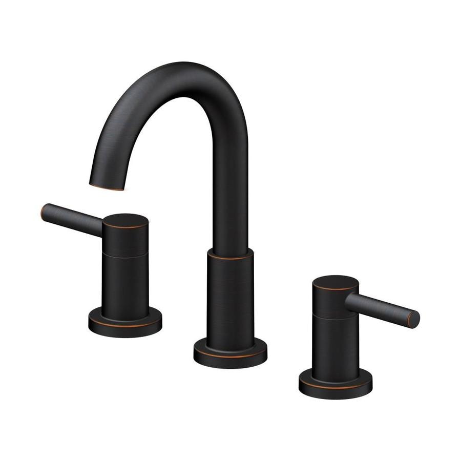 Jacuzzi Duncan Widespread Oil Rubbed Bronze Faucet