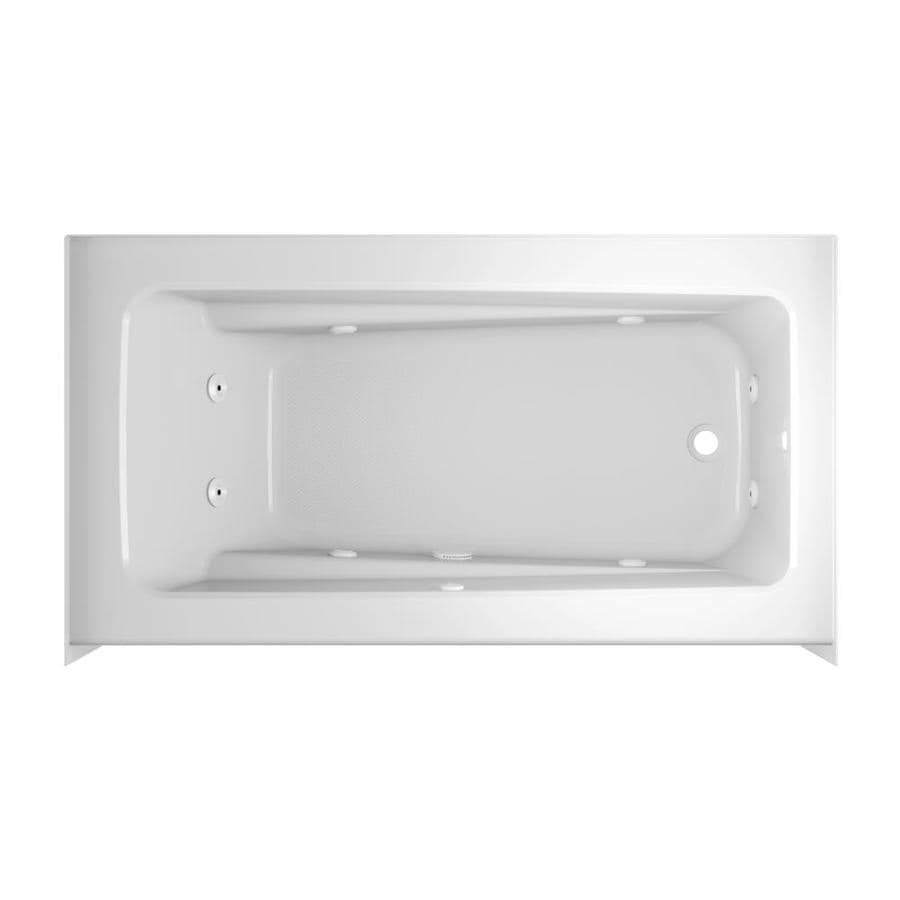 Shop Jacuzzi Primo 60-in White Acrylic Skirted Whirlpool Tub with ...