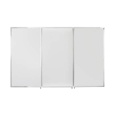 Medicine Cabinets At Lowe S.48 In X 31 In Rectangle Surface Recessed Mirrored Medicine Cabinet