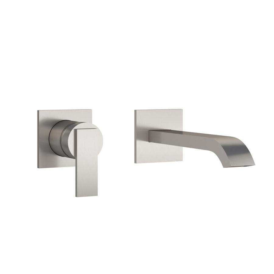 Shop Jacuzzi Mincio Brushed Nickel Handle Vessel Commercial - Commercial bathroom door handle