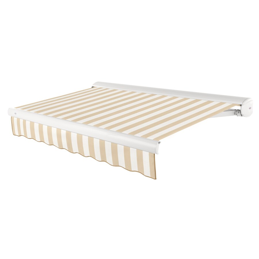 Merveilleux Beauty Mark 192 In Wide X 120 In Projection Striped Vertical Patio  Retractable
