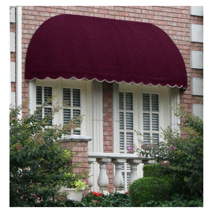 "Awntech 6' Beauty-Mark® Chicago® (44""H X 36""D) Window/Entry Awning / Burgundy"