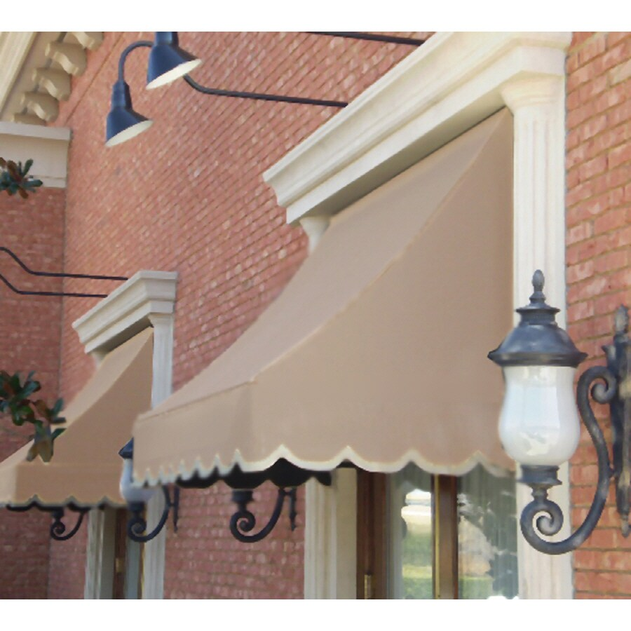 """Awntech 3' Beauty-Mark� Nantucket� (31""""H X 24""""D) Window/Entry Awning / Tan"""