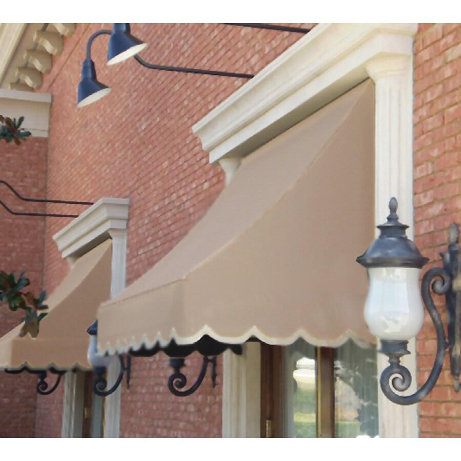 """Awntech 5' Beauty-Mark� Nantucket� (31""""H X 24""""D) Window/Entry Awning / Tan"""