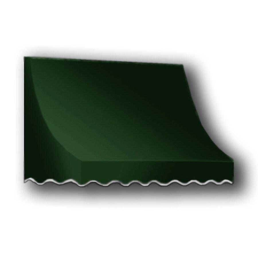 """Awntech 6' Beauty-Mark® Nantucket® (31""""H X 24""""D) Window/Entry Awning / Forest"""