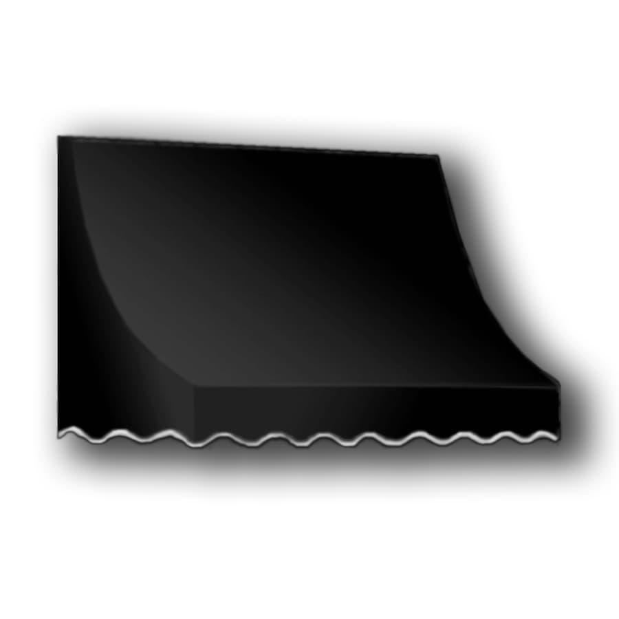 """Awntech 4' Beauty-Mark® Nantucket® (44""""H X 36""""D) Window/Entry Awning / Black"""