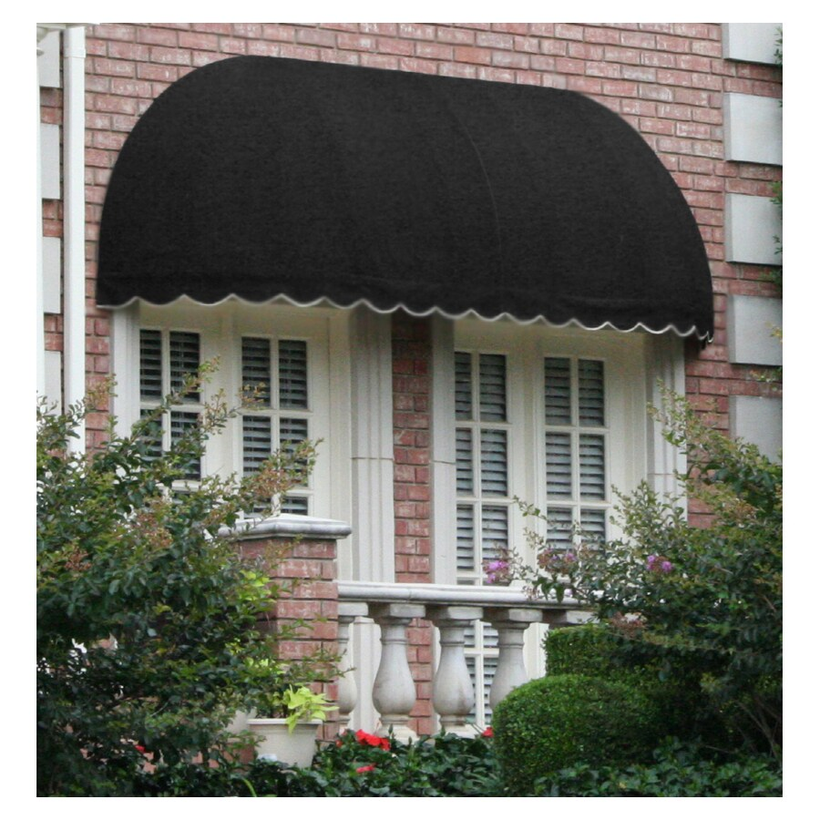 "Awntech 8' Beauty-Mark� Chicago� (44""H X 36""D) Window/Entry Awning / Black"