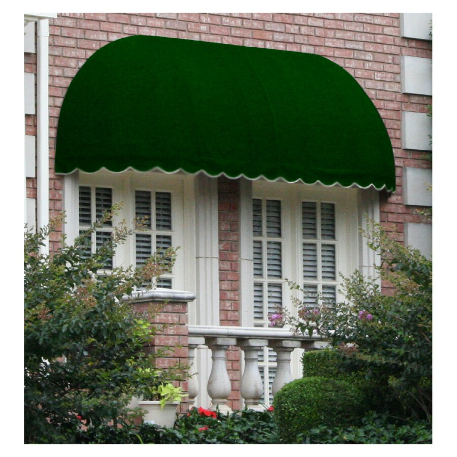 "Awntech 8' Beauty-Mark� Chicago� (44""H X 36""D) Window/Entry Awning / Forest"