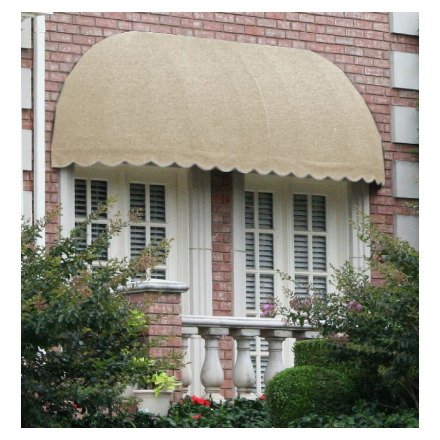 "Awntech 8' Beauty-Mark® Chicago® (44""H X 36""D) Window/Entry Awning / Tan"
