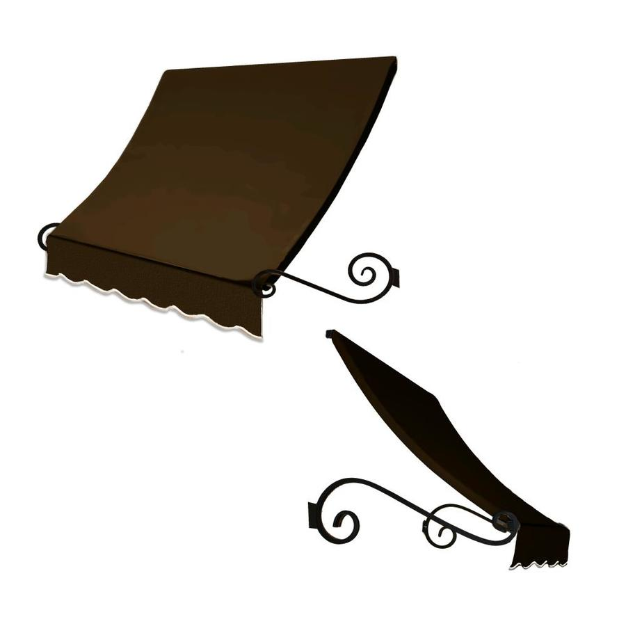 "Awntech 3' Beauty-Mark� Charleston� (31""H X 24""D) Window/Entry Awning / Brown"