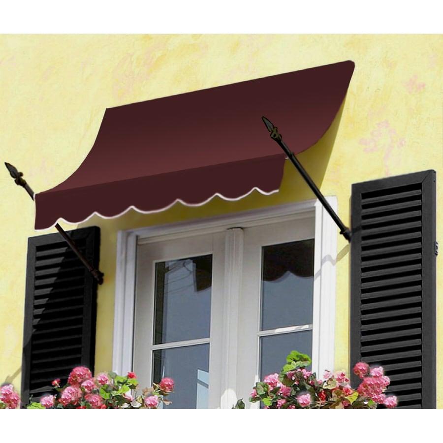 "Awntech 6' Beauty-Mark� New Orleans� (31""H X 16""D) Window/Entry Awning / Burgundy"