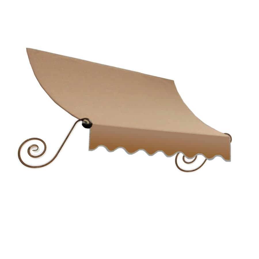 "Awntech 4' Beauty-Mark® Charleston® (31""H X 24""D) Window/Entry Awning / Tan"