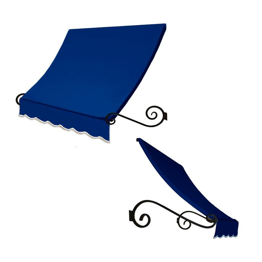 "Awntech 6' Beauty-Mark® Charleston® (31""H X 24""D) Window/Entry Awning / Bright Blue"