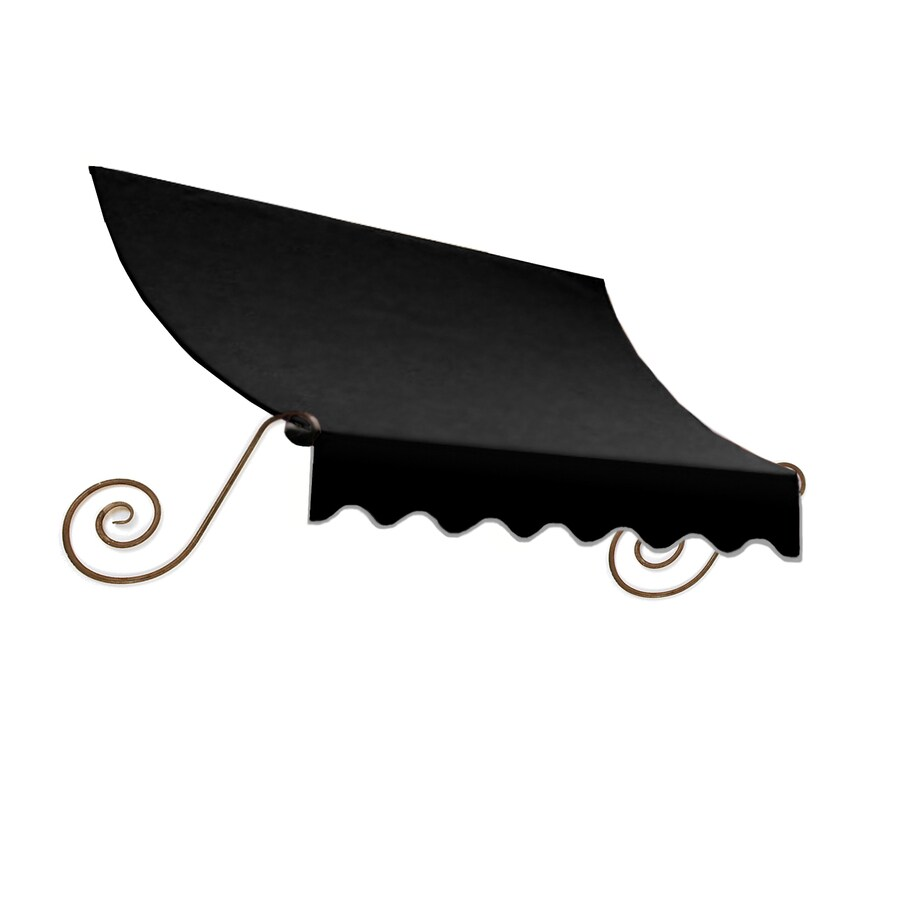 "Awntech 5' Beauty-Mark® Charleston® (44""H X 36""D) Window/Entry Awning / Black"