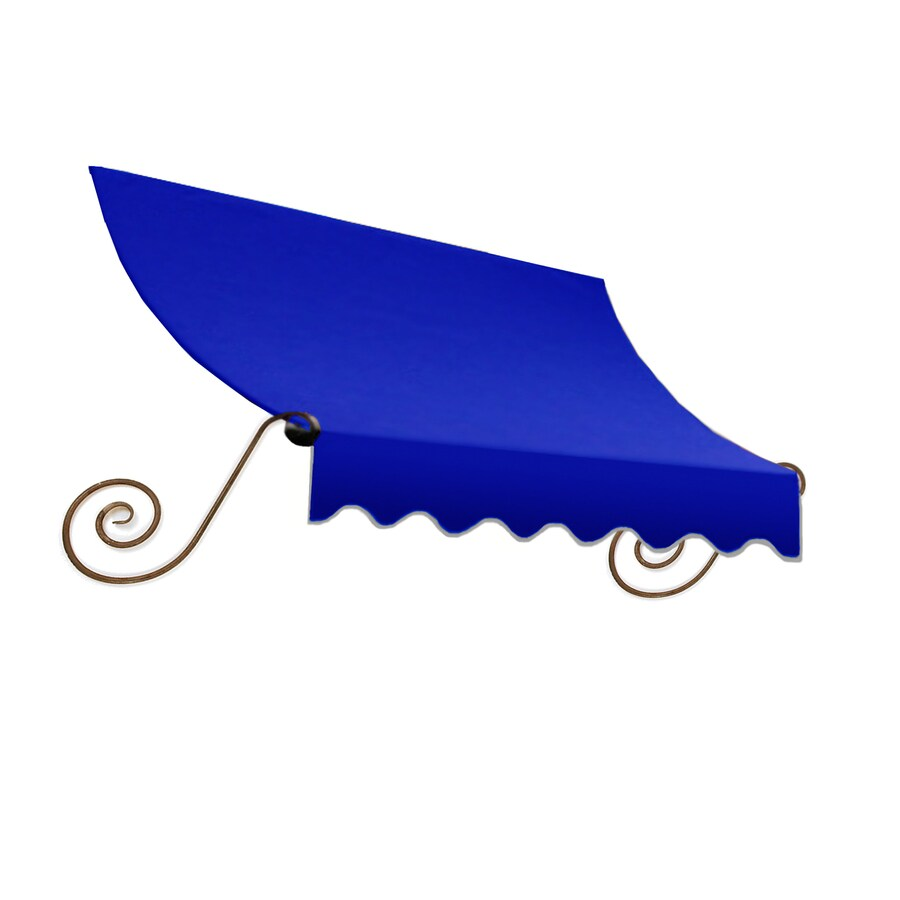 "Awntech 6' Beauty-Mark® Charleston® (44""H X 36""D) Window/Entry Awning / Bright Blue"
