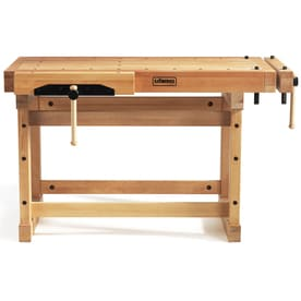 Sjobergs 29.125 In W X 35.437 In H Wood Work Bench