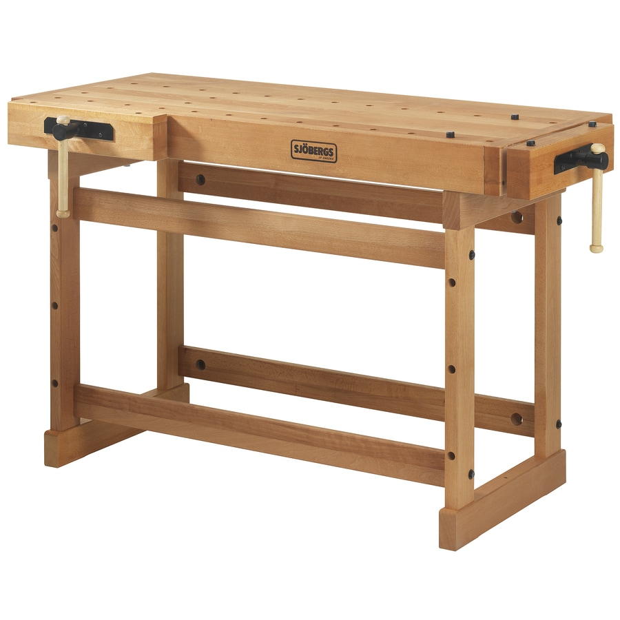 Shop Sjobergs Scandi Plus 27.937-in W x 35.437-in H Wood Work Bench at Lowes.com
