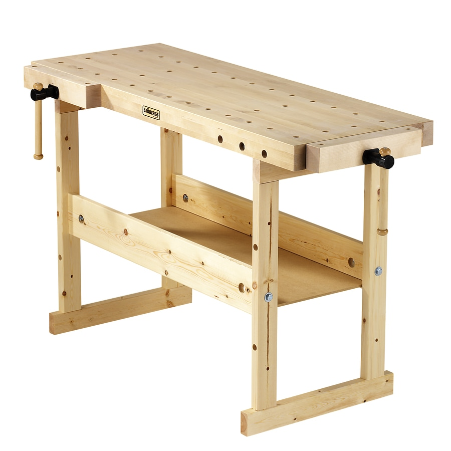 Shop Sjobergs 24.75-in W x 33.875-in H Wood Work Bench at ...