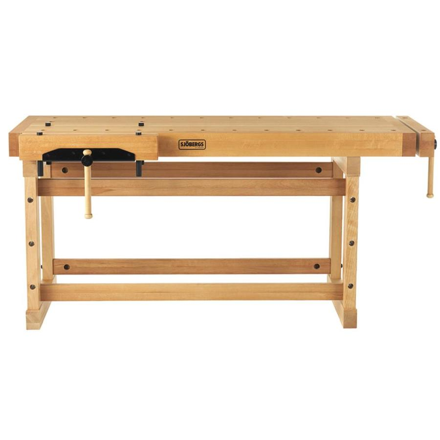 Sjobergs 23.625-in W x 35.4375-in H Wood Work Bench