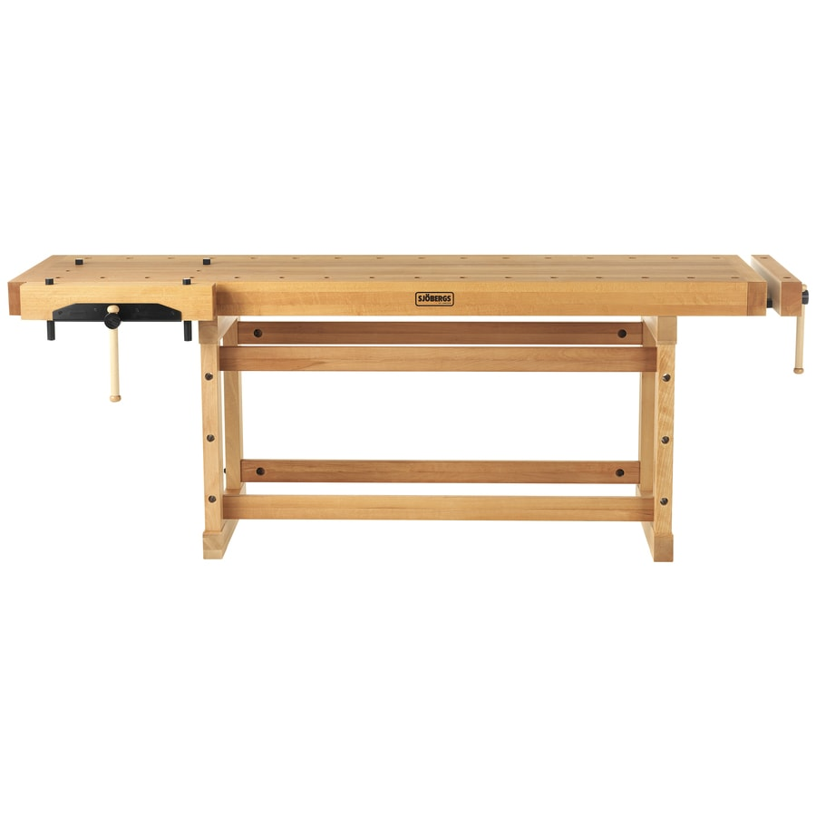 Sjobergs 25.625-in W x 35.4375-in H Wood Work Bench