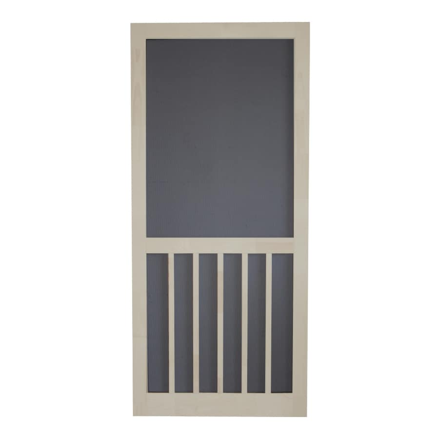 Screen Tight Lyndhurst Timber Wood 5-Bar Screen Door (Common: 30-in x 80-in; Actual: 30-in x 80-in)