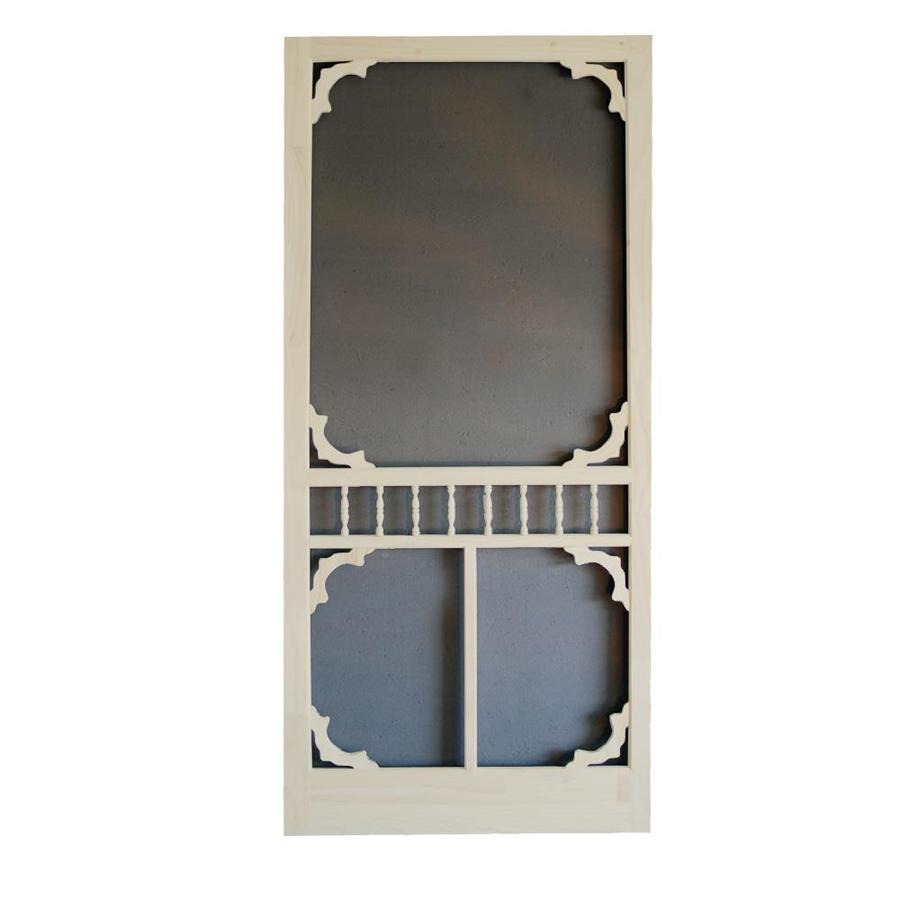 Screen Tight Colonial Lyndhurst Timber Wood Screen Door (Common: 32-in x 80-in; Actual: 32-in x 80-in)
