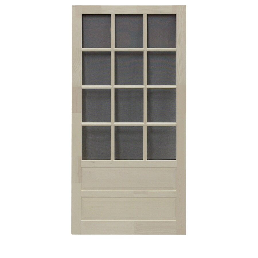 Screen Tight Wood Screen Door (Common: 30-in x 80-in; Actual: 30-in x 80-in)